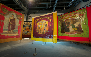 Banners section, Main Gallery Two @ People's History Museum
