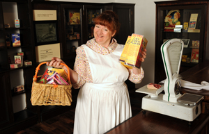 20 Februrary 2014, Living History - Woody the Time Travelling Shopper © People's History Museum